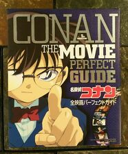Detective Conan The Movie Perfect Guide Gosho Aoyama Art Work Anime Japan Import