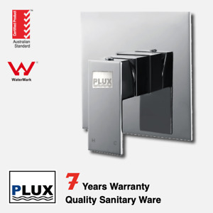 PLUX High Quality Bathroom Chrome Square Wall Mixer-- -Tap/ Mixer/ Faucet