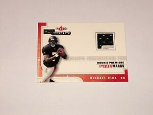 2001 Fleer Hot Prospects Michael Vick Jersey Card Rookie RC 1257/1775