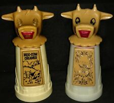 Vintage Moo Cow Creamers Whirley Industries Pats Pending Set Of 2