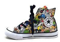Converse Unisex Kids CT Looney Tunes Hi Top Skate Shoes Size 12 M US