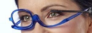 Schminkbrille Sehstärke +2,0 dpt Make Up Brille Schminkhilfe Sehhilfe Schminken