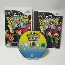 Cartoon Network Punch Time Explosion Nintendo Wii Game PAL UK Complete