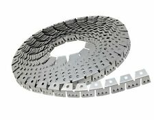 House2Home 20ft Upholstery Metal Flexible Tack Strip Supplies, Curve Ease Gri.