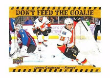 Johnny Gaudreau 2016-17 Upper Deck, dont feed the goalie, Hockey CARD!!!