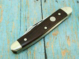 VINTAGE BOKER GERMANY 280 TREE BRAND WOOD FOLDING WHITTLER POCKET KNIFE KNIVES