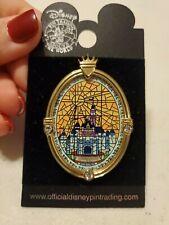 New listing Wdw Walt Disney World Pin Cinderella Castle Window Stained Glass Look