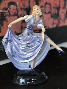 Goldscheider Large 30.5cm Art Deco Dancer Madelleine By Stefan Dakon C1933