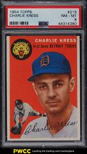 1954 Topps Charlie Kress #219 PSA 8 NM-MT (PWCC)