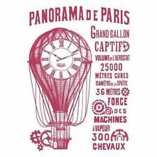 Stamperia A4 Mix Media Stencil –  Panorama de Paris KSG429 New