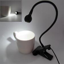Flexible USB LED Light Clip-on Bed Table Desk Study Reading Lamp  .