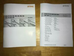 FS120 FS200 FS250 FS 120 200 250 R Stihl Trimmer Service Workshop & Parts Manual