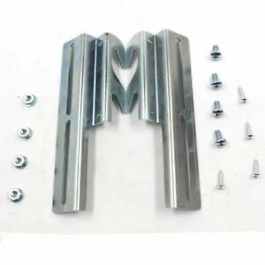 Bolt to Hook-On Bed Frame Headboard #711 Conversion Plate Adapter Set