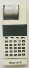 Vintage Canon TP-8 Electronic Battery Operated Pocket Printer Calculator no cord