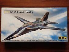 HELLER 1/72 U.S.A.F. F-111 E AARDVAARK JKET FIGHTER KIT # 80339 FACTORY SEALED