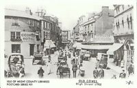 Isle of Wight Postcard - Old Cowes - High Street c1902    U723