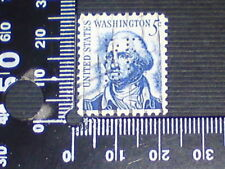 USED STAMP - USA - 5c WITH PERFINS