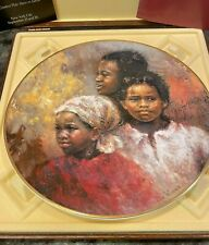 Royal Doulton Plate 1978 A Brighter Day by Lisette DeWinne with certifications