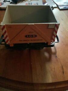 LGB 4044 mining car with box G scale