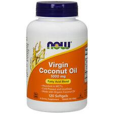 Virgin Coconut Oil - 1000mg x 120 Softgels - NOW Foods