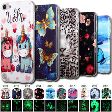 For iPod Touch 5 6 7th Glow In The Dark TPU Soft Case Cover Luminous Skin Back