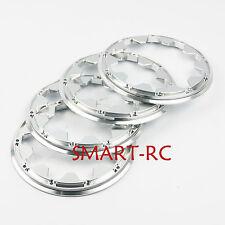 4pcs KM Aluminium Alloy beadlock (outside) Wheel rim for Rovan HPI Baja 5B S04
