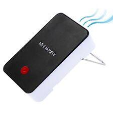 Termoventilatore Mini portatile da ufficio Nero