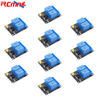 10pcs 2 Channel Relay Module 5V 10A Shield with Optocoupler for Arduino