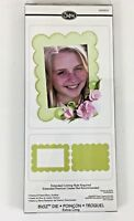 Sizzix Bigz XL Scallop Frame & Frame Back Die Big Shot Kick #656610 ~ NEW