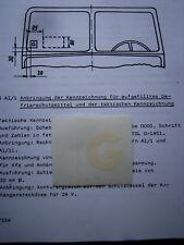 "Aufkleber Glysantin ""G""  NVA DDR IFA Trabi Kübel LO W50  Ural GAZ UAZ P3 G5 H3A"