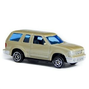 """Ford Explorer Sand Beige 6061 Motor Max 1:60 1:64 3"""" inch Toy Car"""