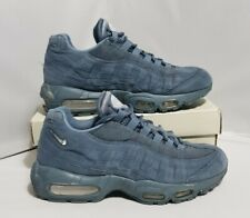 Nike Air Max 95 Armoury Blue Men Size 6 UK CJ0423 400 Suede Trainers