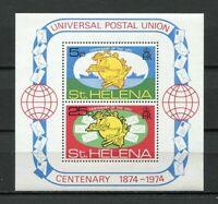 23416) S.Helena MNH New 1974 Upu S/S