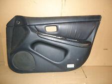 2001 LEXUS ES300 FRONT RIGHT PASSENGER SIDE INTERIOR DOOR PANEL BLACK