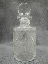 Flacon en cristal taillé de BACCARAT du XIXème