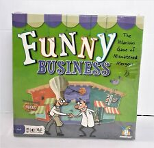 Funny Business Family Board Game Mismatched Mergers Gamewright Brand New Sealed