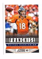 New listing Peyton Manning 2013 Panini Score, Franchise, Football Card