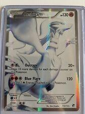 Pokemon Reshiram 113/114 Full Art, Holo/Shiny Black and White TCG Card Mint