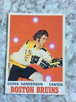 1970-71 O-Pee-Chee #136 Derek Sanderson Very Good