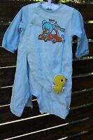 Boys kids Baby Cotton Blue Bear bird comforter Bodysuit Romper 00