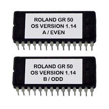 Roland GR-50 Version 1.14 firmware Latest OS update upgrade Gr50 Eprom