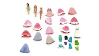 Polly Pocket Lot of 3 Dolls With Clothes Outfits Lot