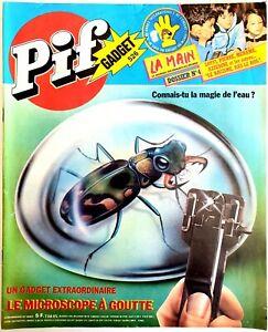 PIF GADGET N°526 (23/04/1979) : PIF & HERCULE, RAHAN, TARANIS, SUPERMATOU [TBE]