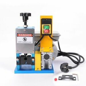 WOO 240V Portable Powered Electric Wire Stripping Machine Scrap Cable Stripper