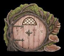 Miniature World Pink Burrow Fairy Door