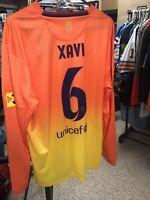 Nike 2012 2013 Xavi XL L/S FC Barcelona Away Shirt Jersey Camiseta Kit NWT