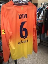 Nike 2012 2013 Xavi XL L/S FC Barcelona Away Shirt Jersey Camiseta Kit NWT