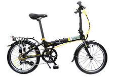 Aluminium Frame Unisex Adult Folding Bicycles