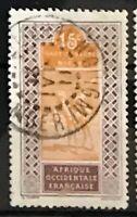 Upper Senegal & Niger #23a Used CDS CV$7.00 Camel Rider