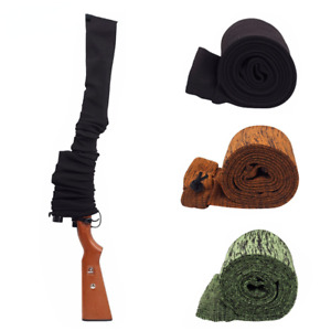 """Tactical Gun Sock 54"""" Dustproof Silicone Treated Knit Protection Sock Cover Bag"""